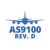 AS9100 rev d logo