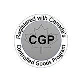 Controlled Goods Program logo